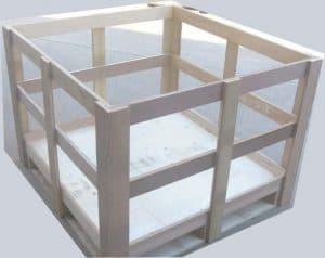 夹板材料木架包装
