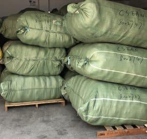 编织袋包装货物