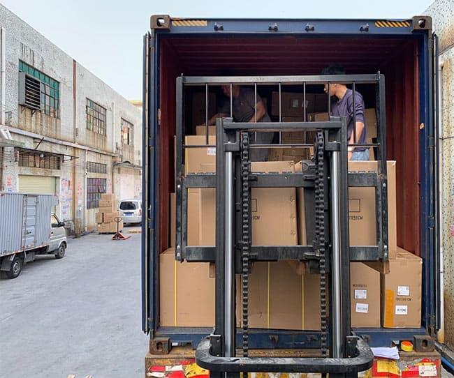 集装箱装柜