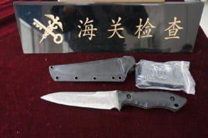 刀具不可邮寄