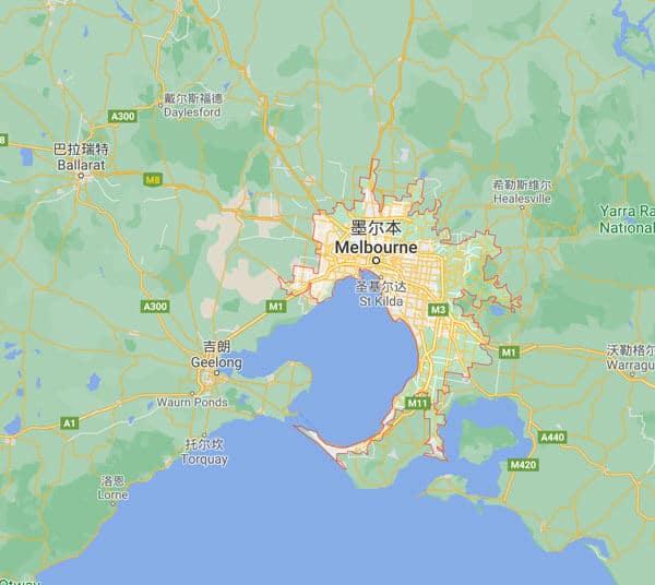 墨尔本Melbourne