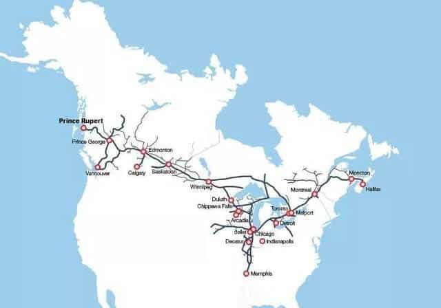 加拿大公路运输网